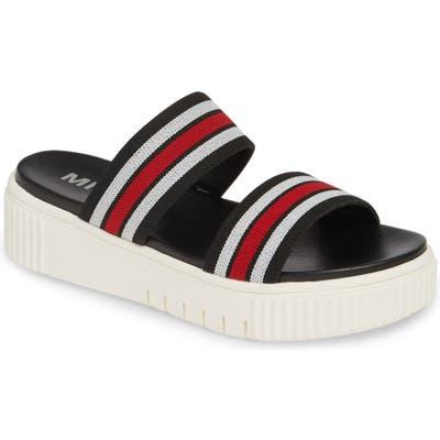 Mia Lillie Flatform Sandal, Black