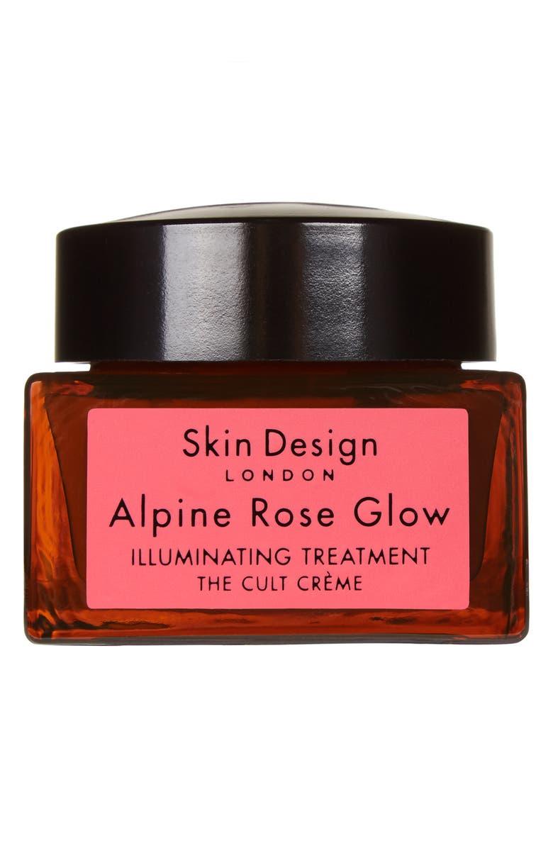 SKIN DESIGN LONDON Alpine Rose Glow Illuminating Treatment Crème, Main, color, NO COLOR