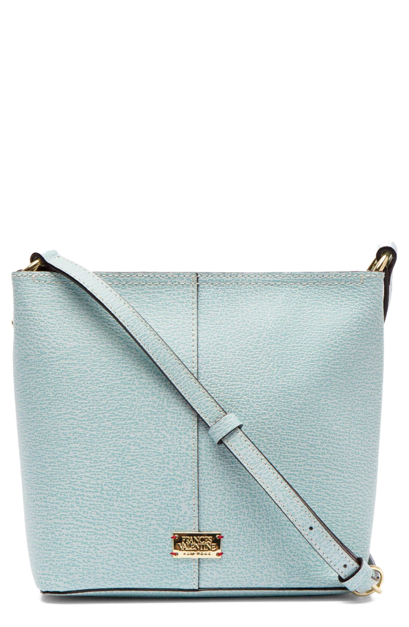 Small Fin Leather Crossbody Bag