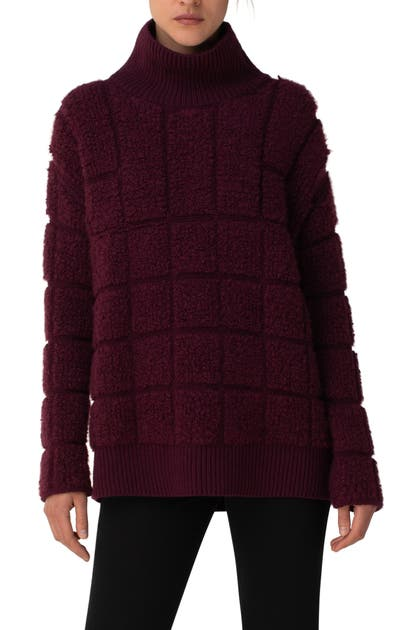 Akris CASHMERE & SILK BOUCLE SWEATER