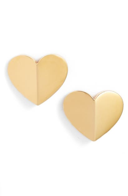 Kate Spade Jewelries HEART STATEMENT STUD EARRINGS