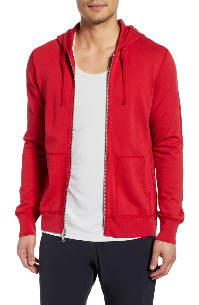 REIGNING CHAMP Zip Hoodie, Main, color, 620