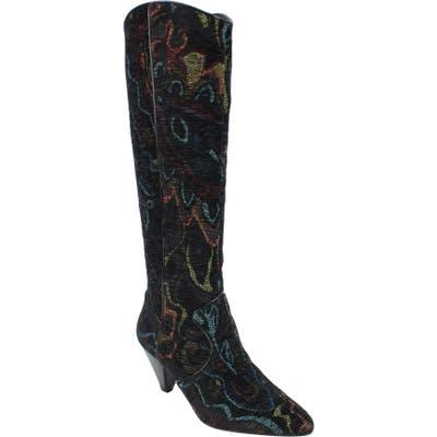J.renee Valoria Western Boot, Black