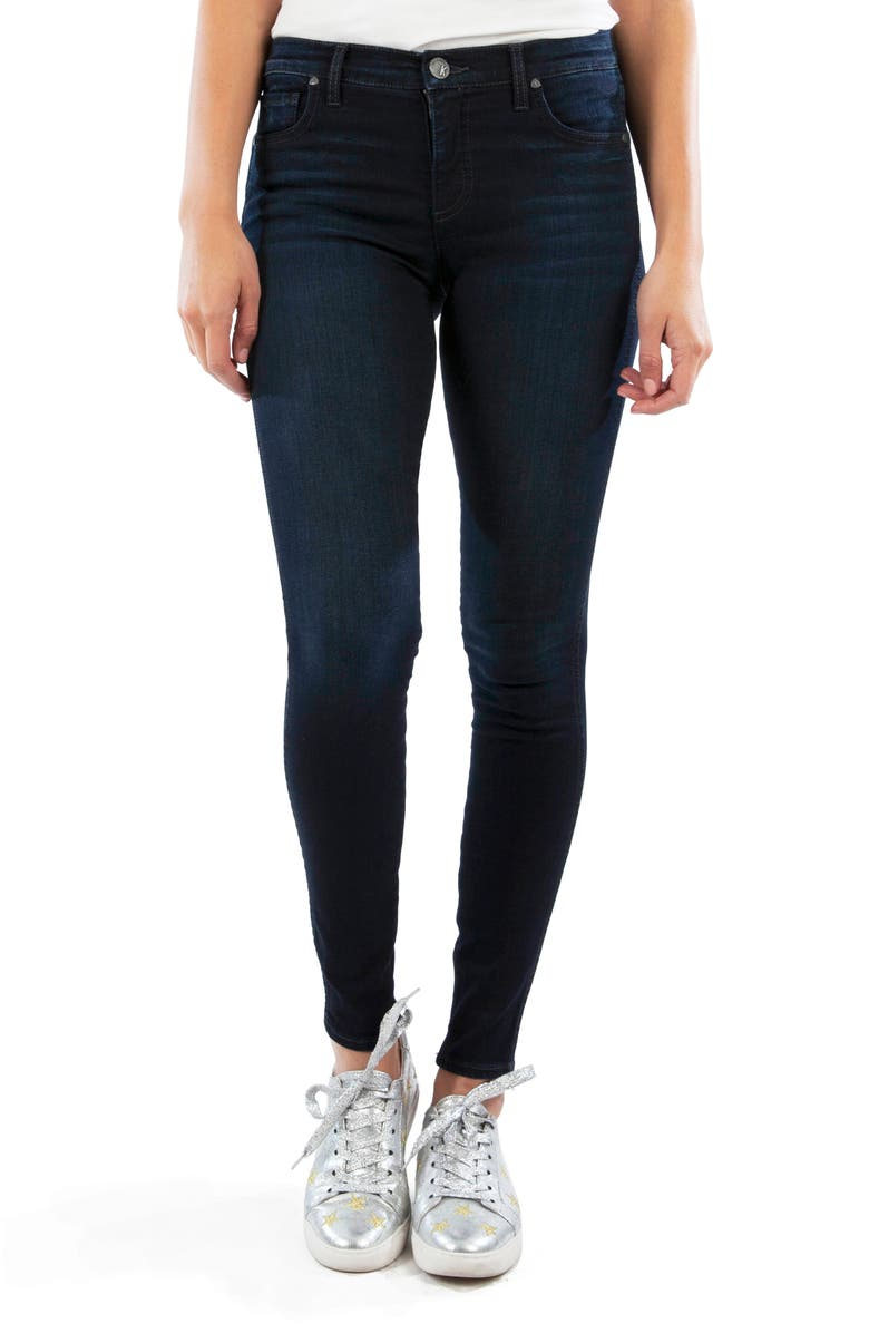 KUT FROM THE KLOTH Mia Fab Ab High Waist Skinny Jeans, Main, color, UNCOVER