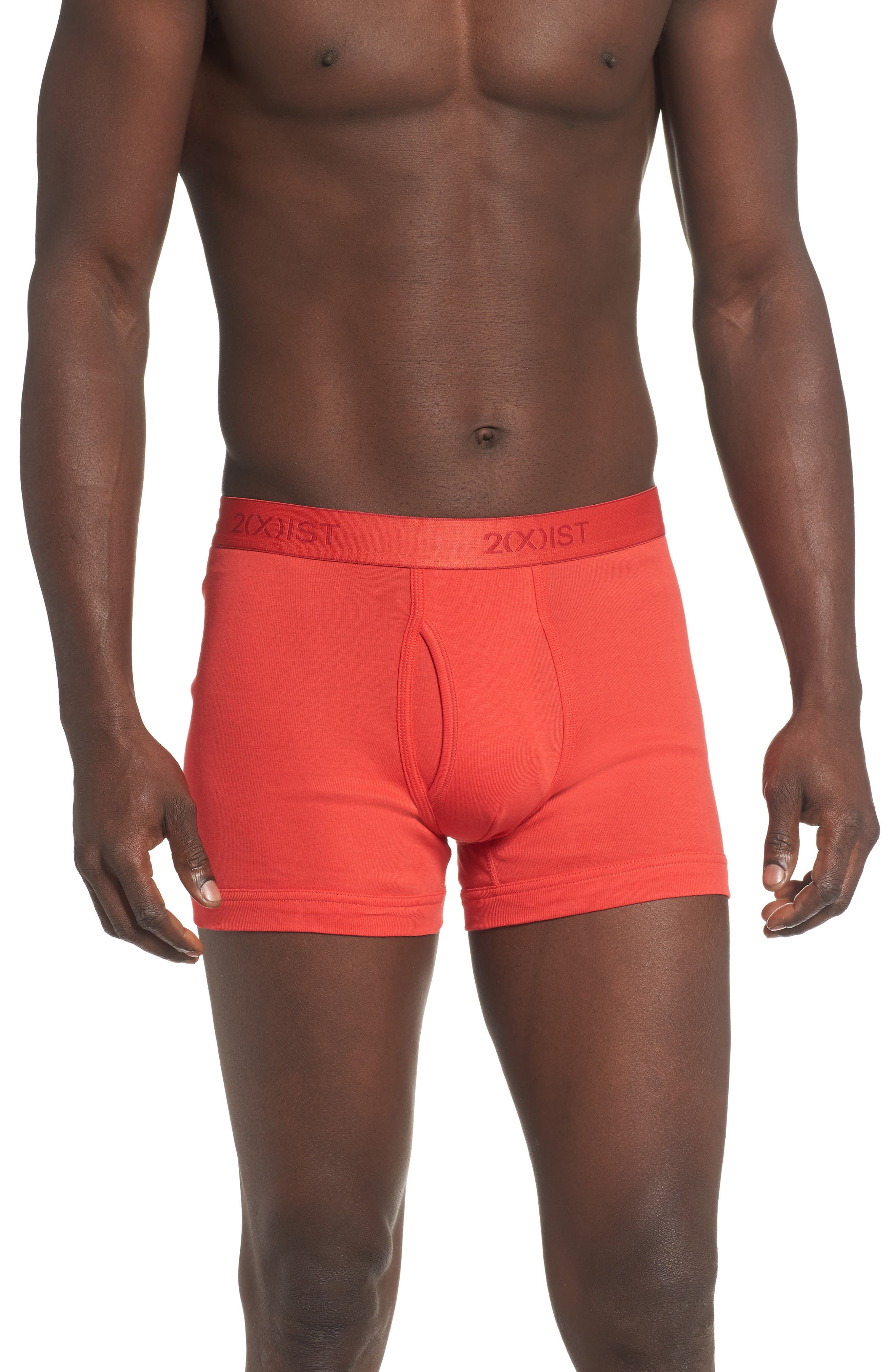 Image of 2(X)IST 3-Pack Cotton Boxer Briefs