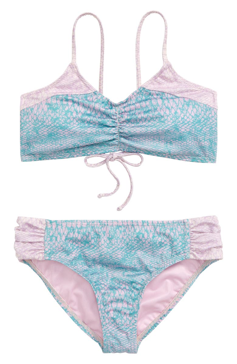 HEART AND HARMONY Luau Two-Piece Swimsuit, Main, color, 400