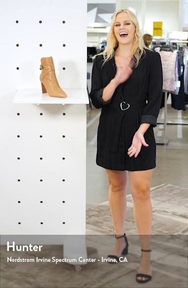 Camille Pointed Bootie, sales video thumbnail