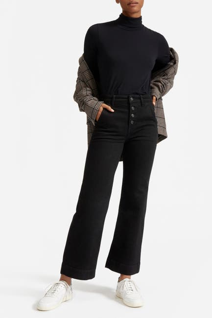 Image of EVERLANE The Wide Leg Crop Jean