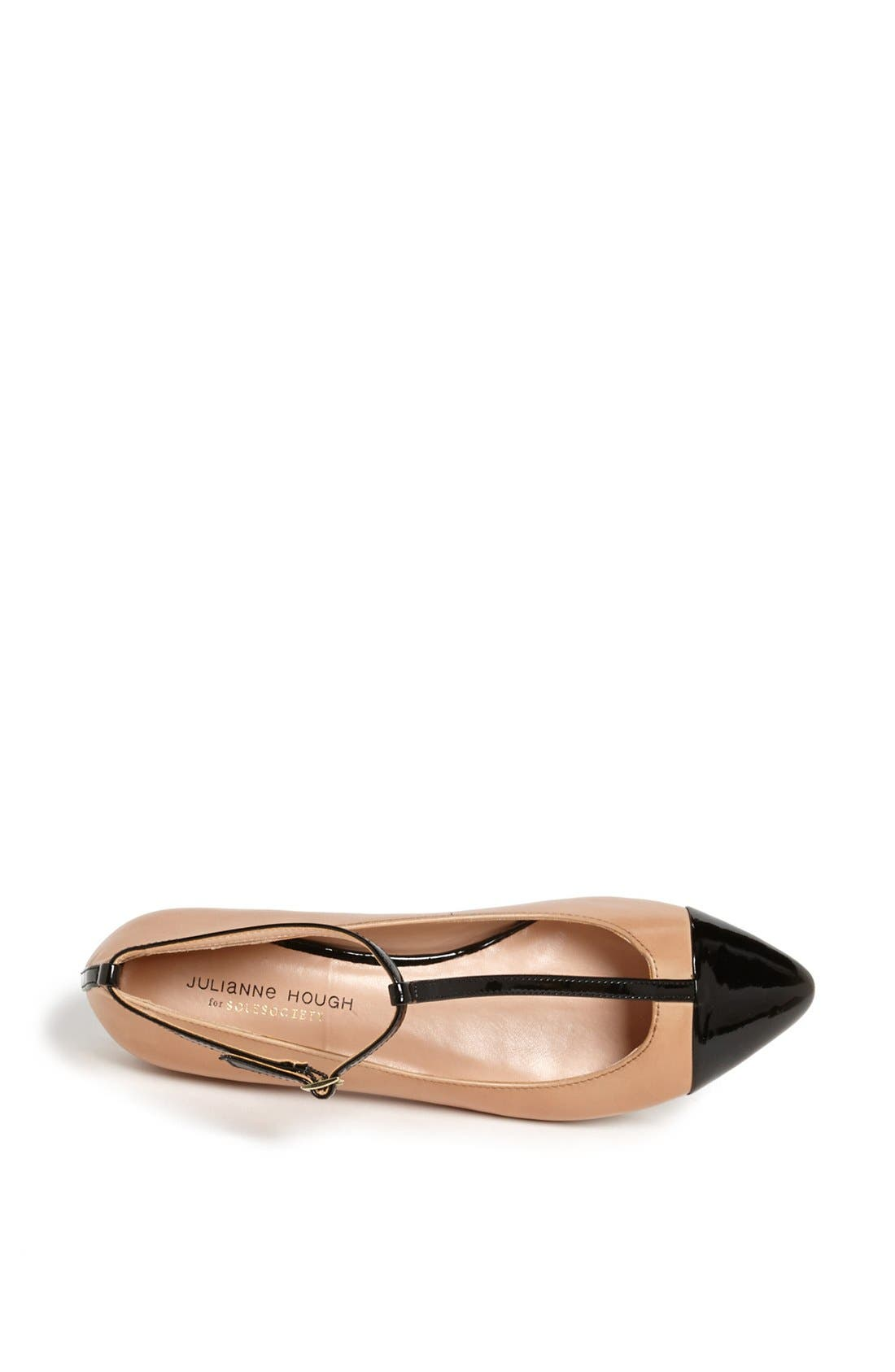 ,                             Julianne Hough for Sole Society 'Addy' Flat,                             Alternate thumbnail 23, color,                             251