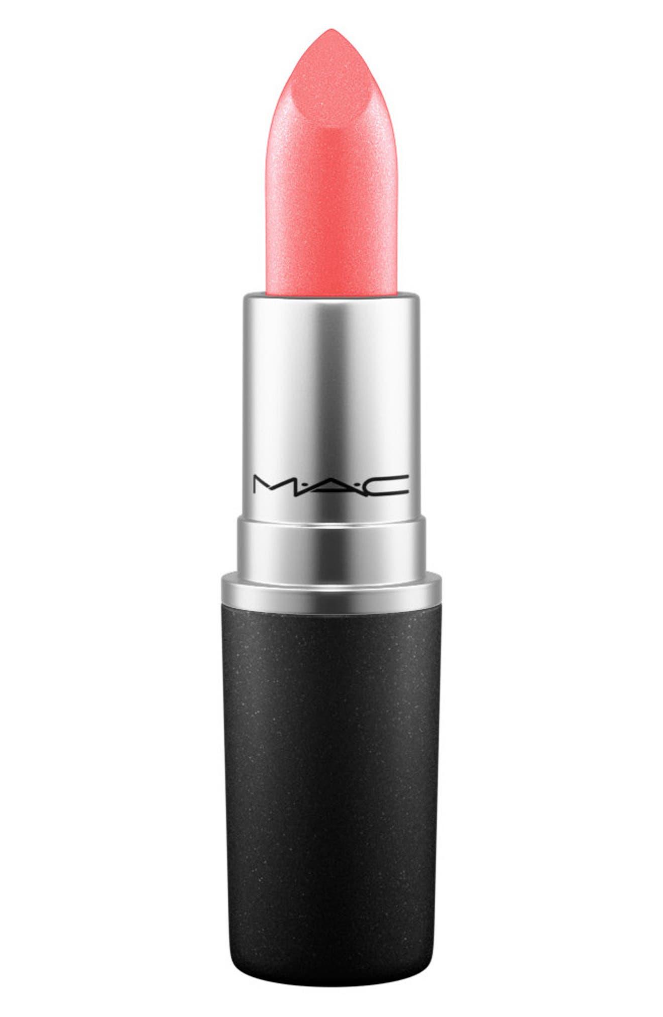 ,                             MAC Strip Down Nude Lipstick,                             Main thumbnail 111, color,                             110