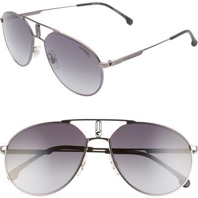 Carrera Eyewear 5m Aviator Sunglasses - Dark Ruthenium/ Gray Gradient