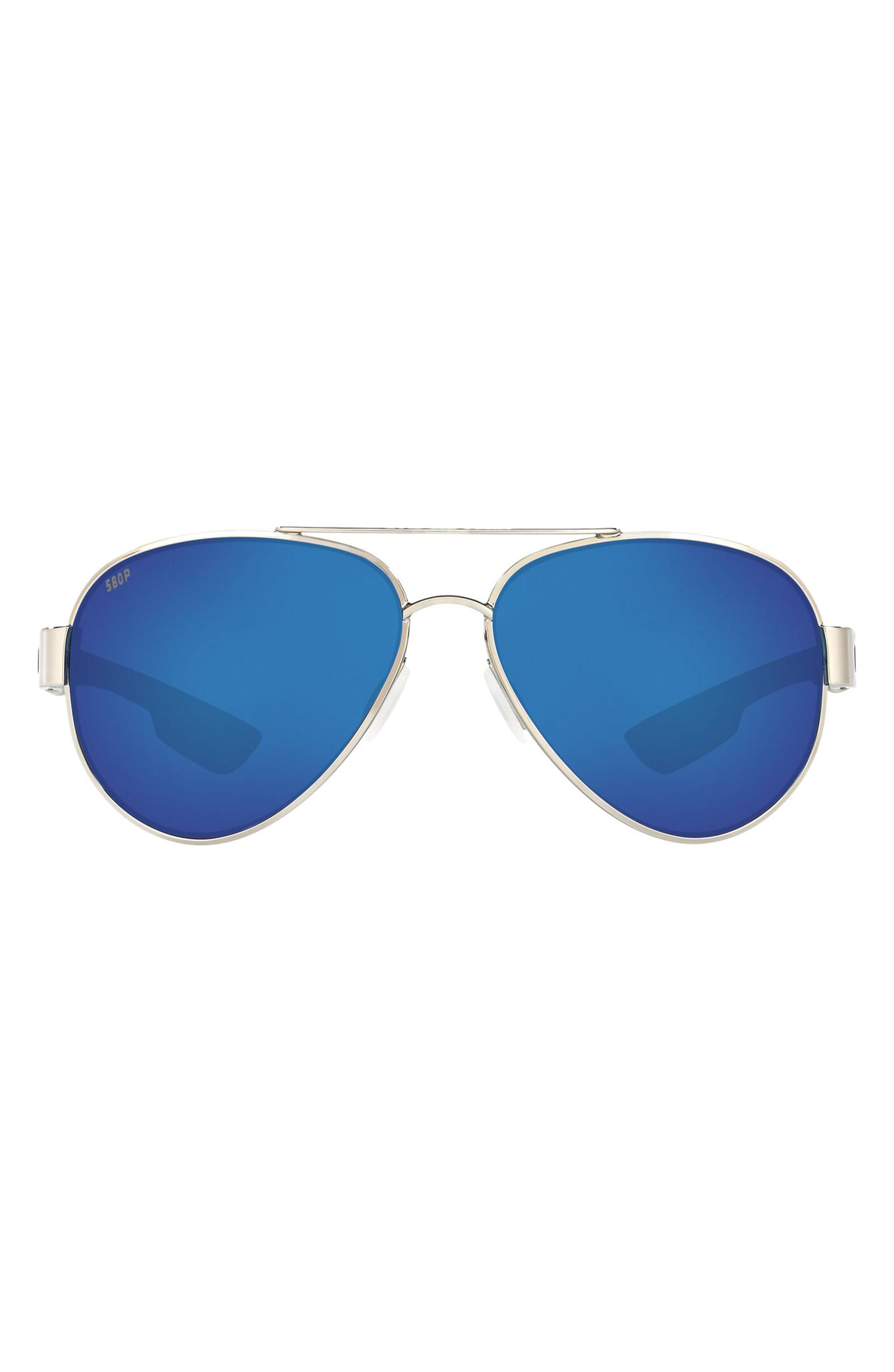 59mm Polarized Pilot Sunglasses