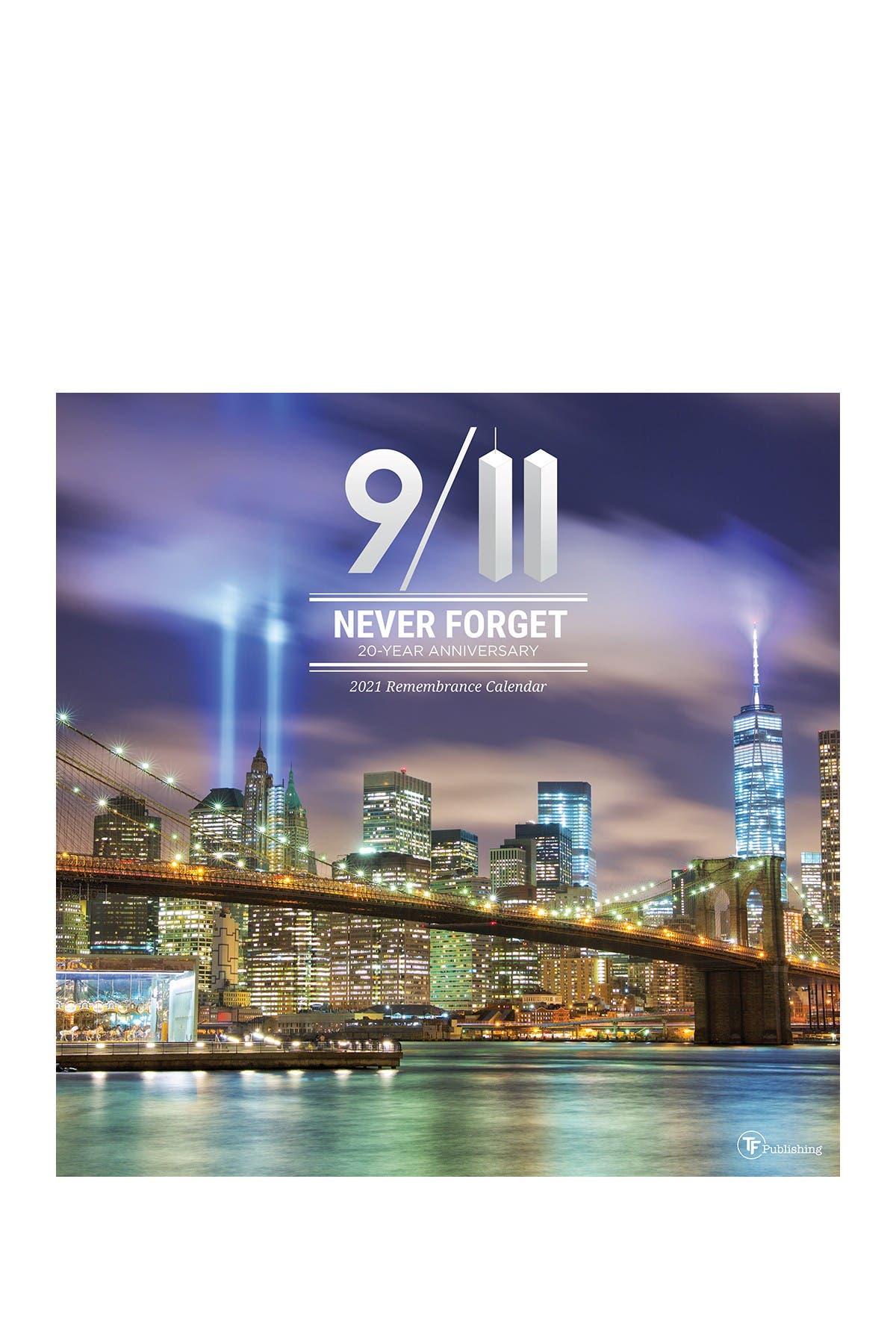 Image of TF Publishing 2021 911: 20 Years Wall Calendar