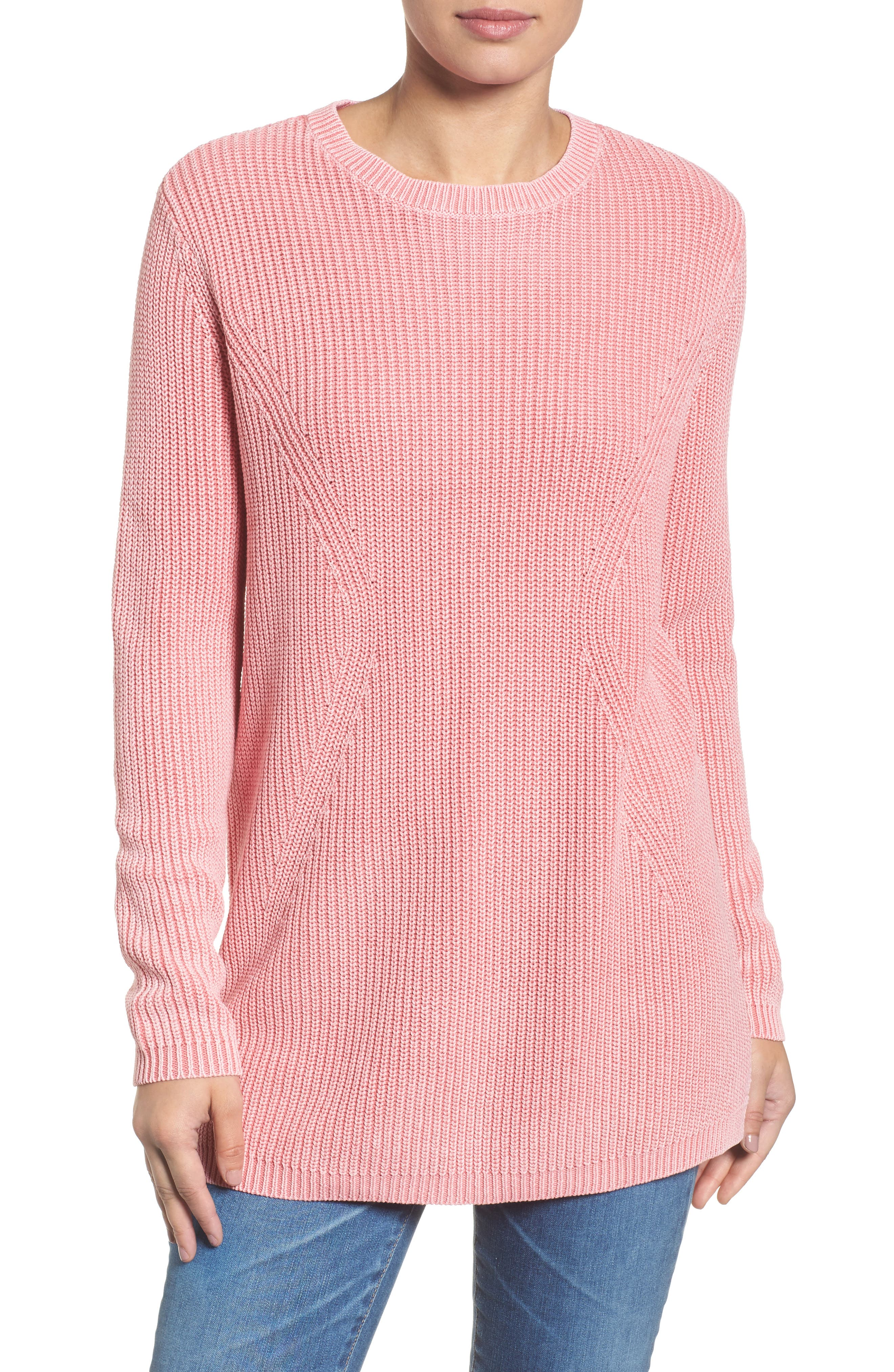 ,                             Tie Back Tunic Sweater,                             Main thumbnail 55, color,                             680