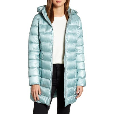 Via Spiga Three-Quarter Packable Puffer Jacket, Green