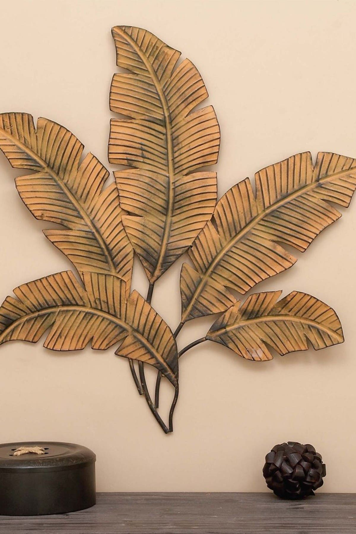 Image of Willow Row Petal Palm Wall Decor
