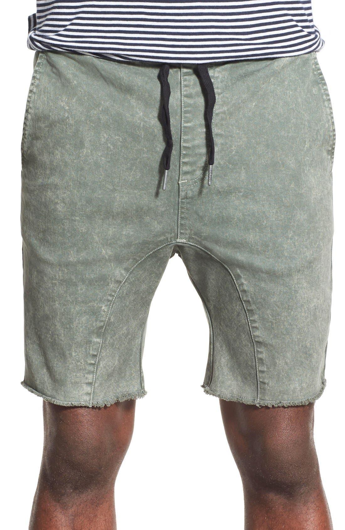 ,                             'Sureshot' Ikat Drawstring Shorts,                             Main thumbnail 4, color,                             343