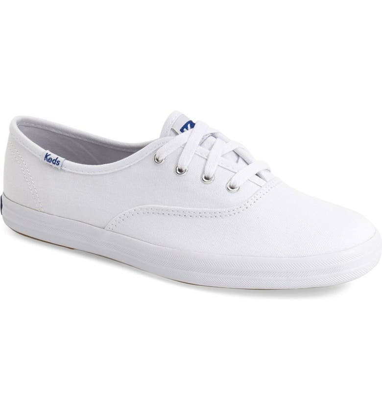 'Champion' Canvas Sneaker, Main, color, Z/DNUWHITE CANVAS