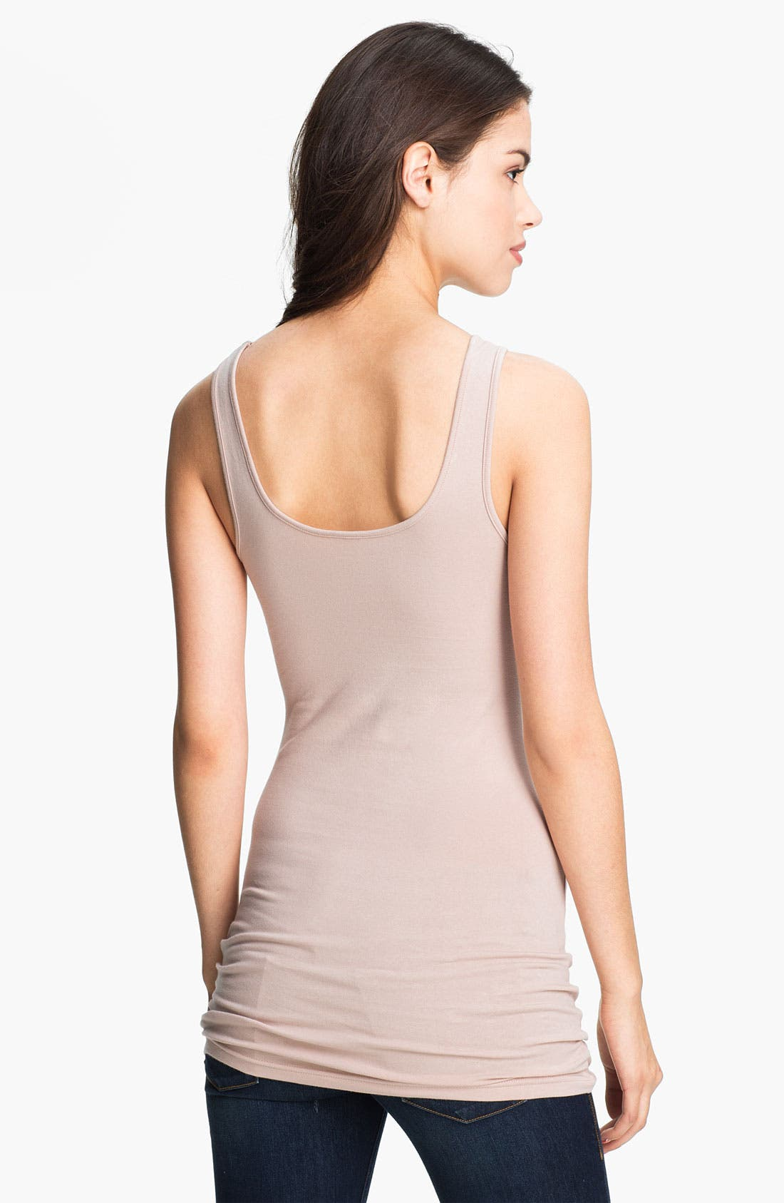,                             Double Scoop Neck Tank,                             Alternate thumbnail 289, color,                             668