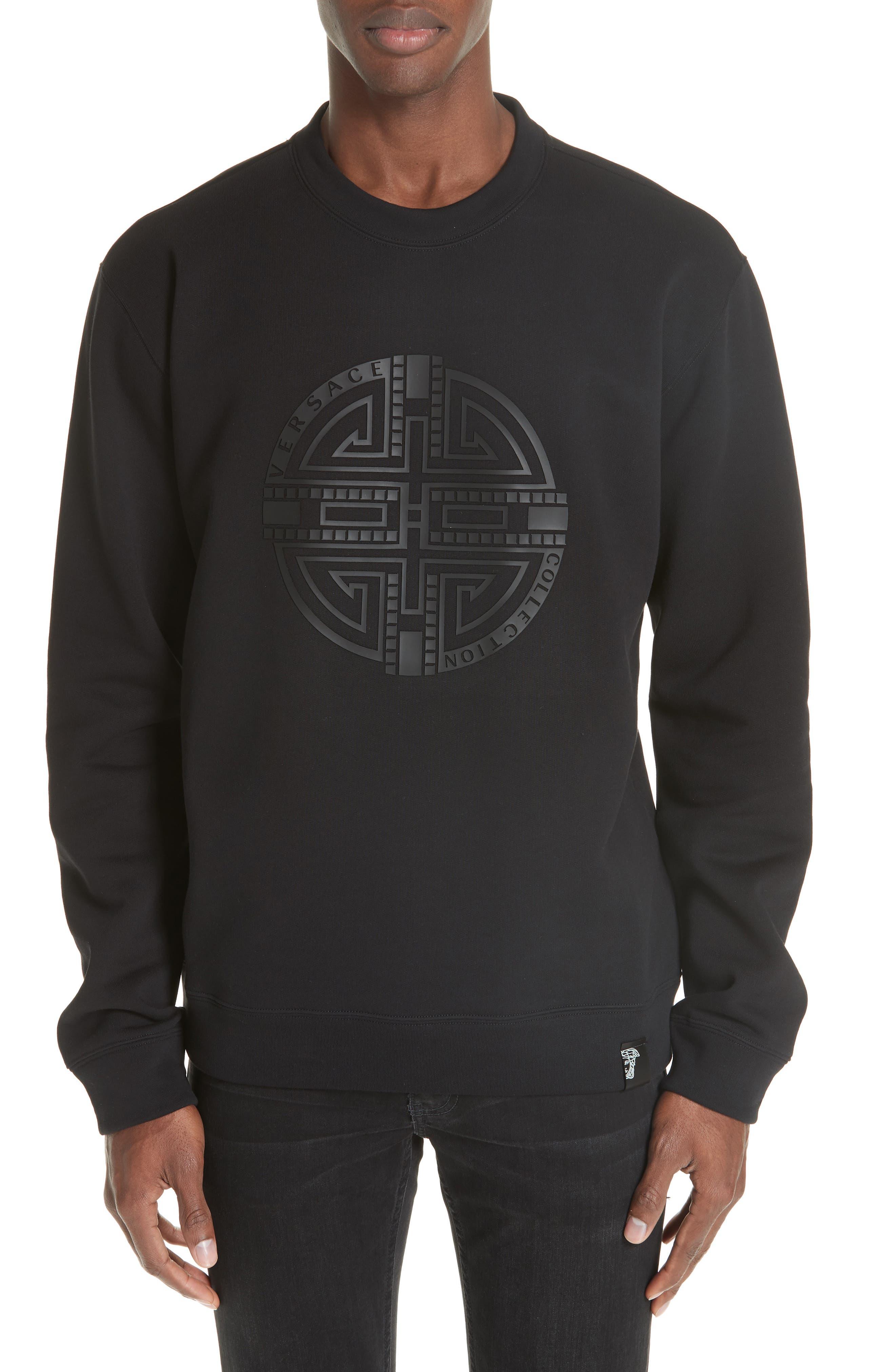 ,                             Large Logo Sweatshirt,                             Main thumbnail 1, color,                             001