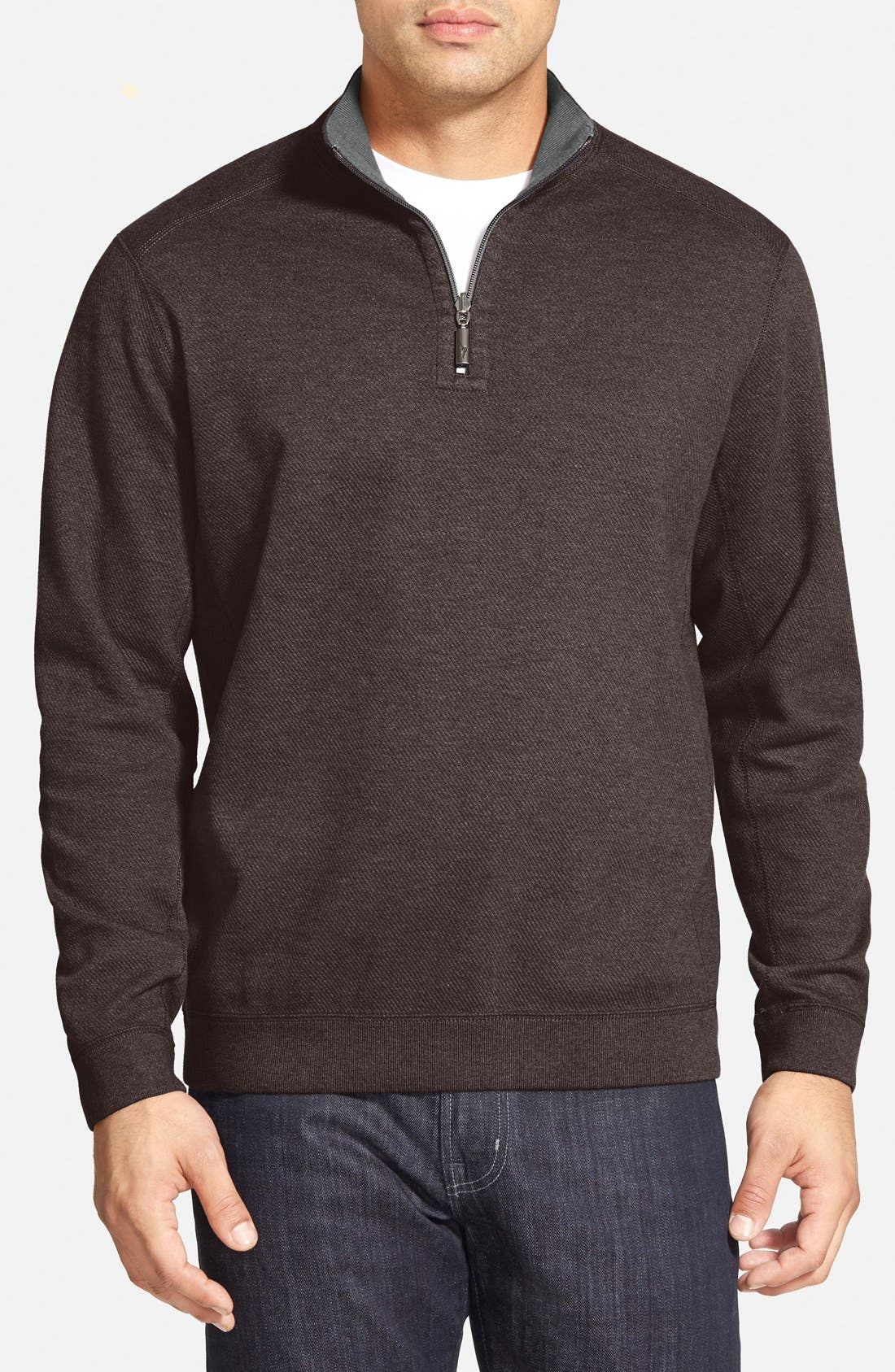 ,                             'Flip Side' Reversible Quarter Zip Pullover,                             Main thumbnail 42, color,                             203