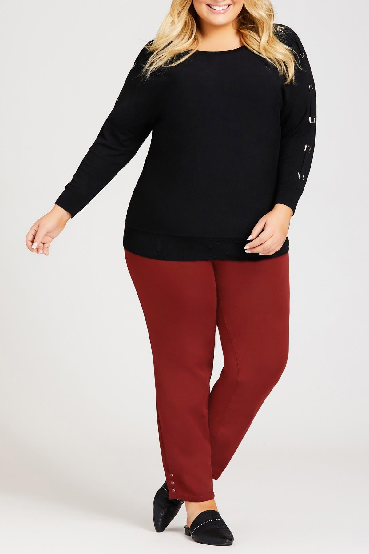 Image of AVENUE Dolman Detail Sweater