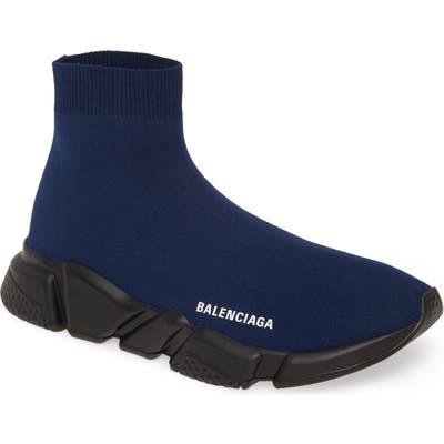 Balenciaga Speed High Slip-On, Blue