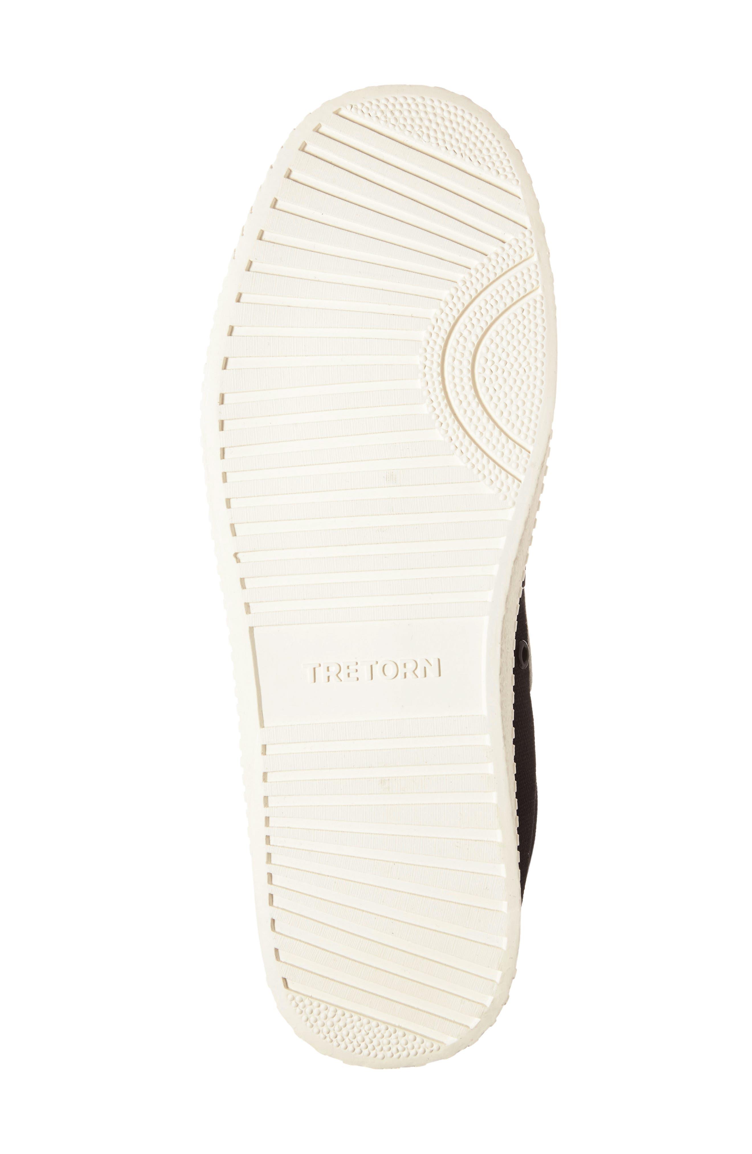 ,                             Nylite Plus Sneaker,                             Alternate thumbnail 4, color,                             BLACK/ WHITE