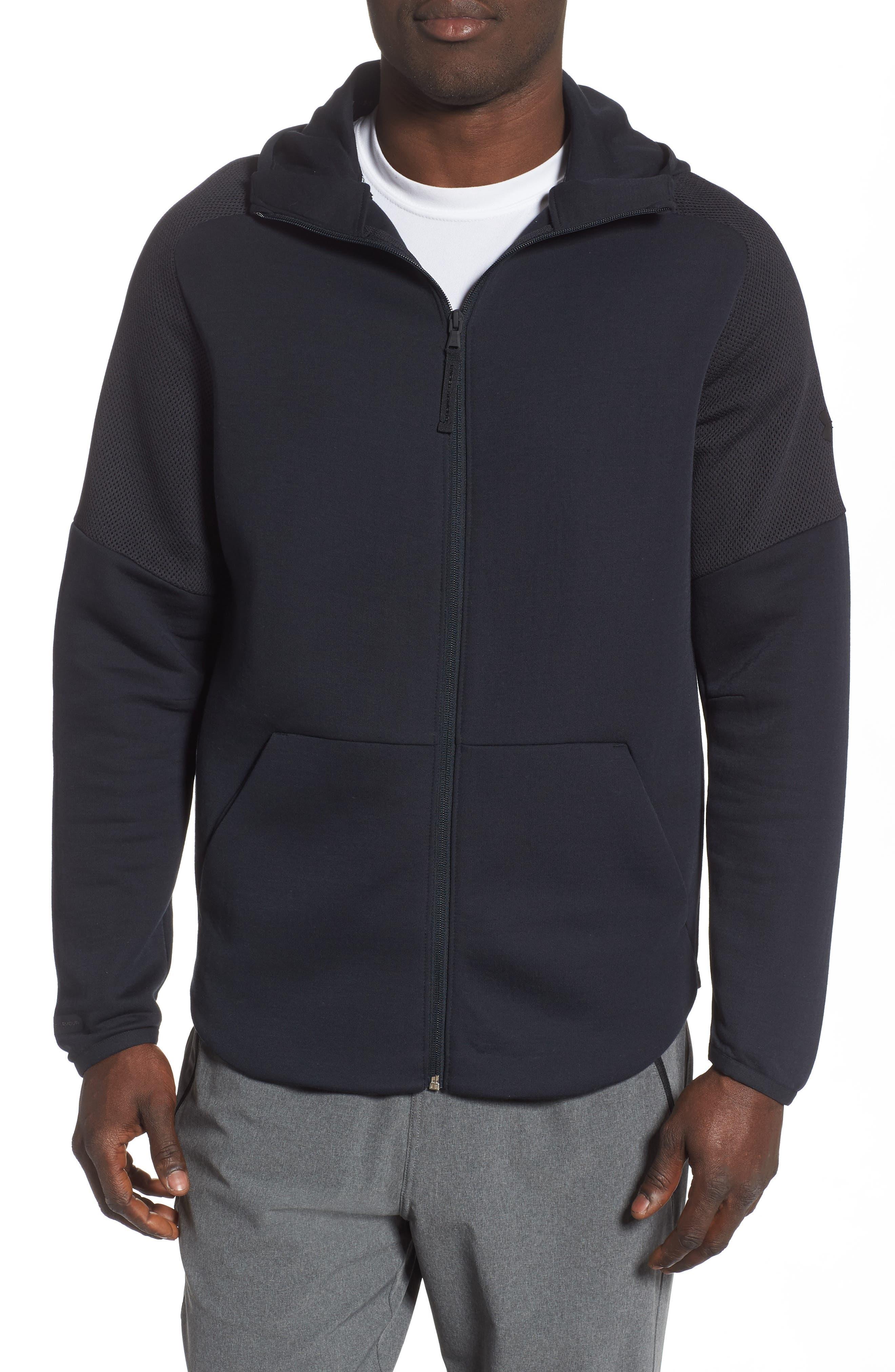 ,                             Unstoppable Move Light Full-Zip Hooded Sweatshirt,                             Main thumbnail 6, color,                             003