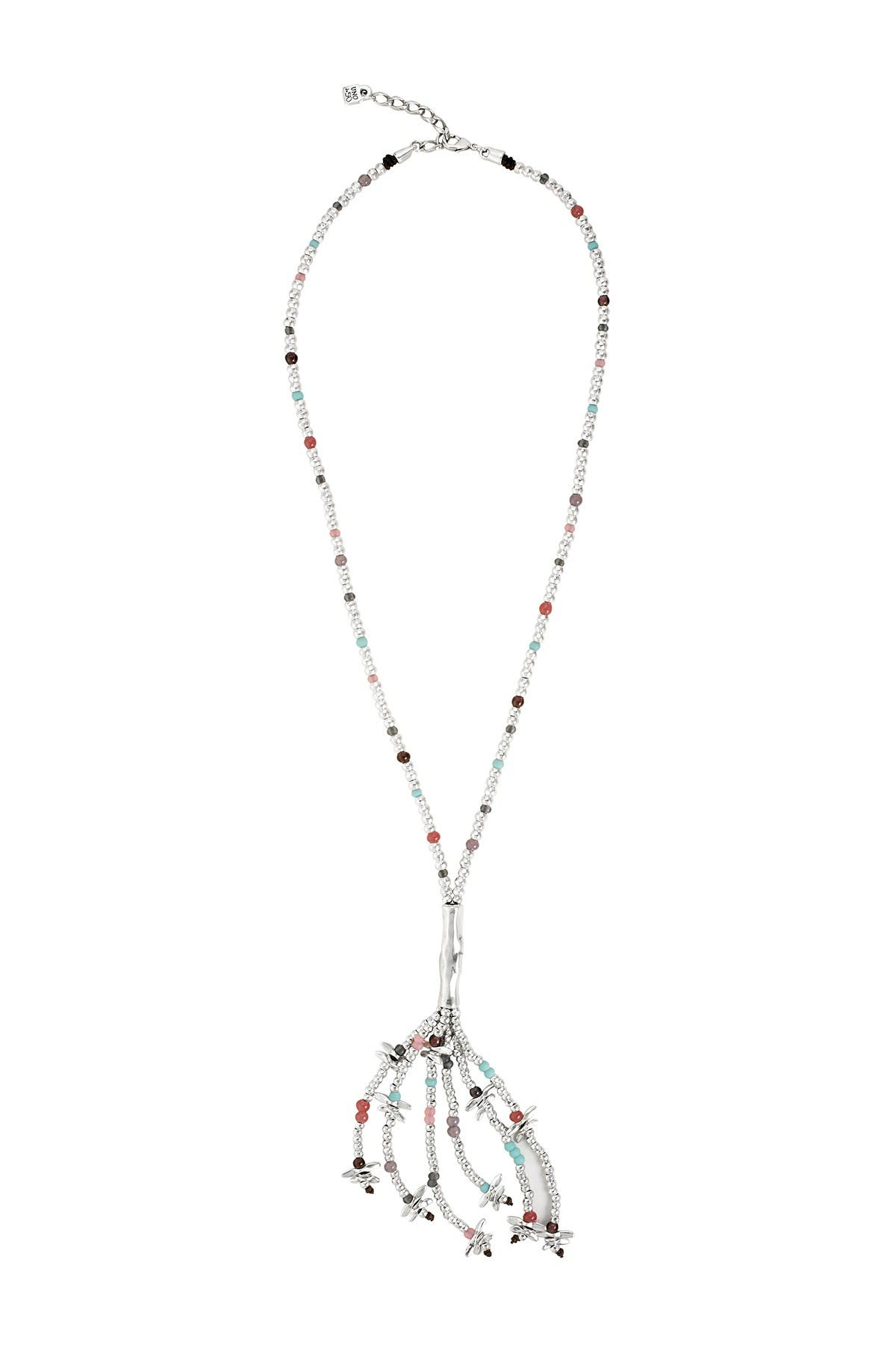 Image of Uno De 50 Feelings Dragonfly Tassel Necklace