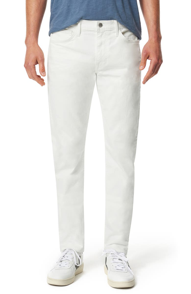 JOE'S Kinectic The Asher Slim Fit Jeans, Main, color, White