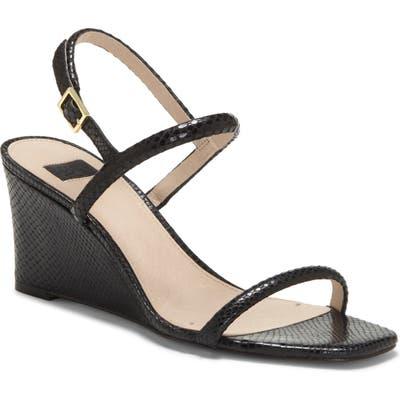 Louise Et Cie Quinley Wedge Sandal- Black