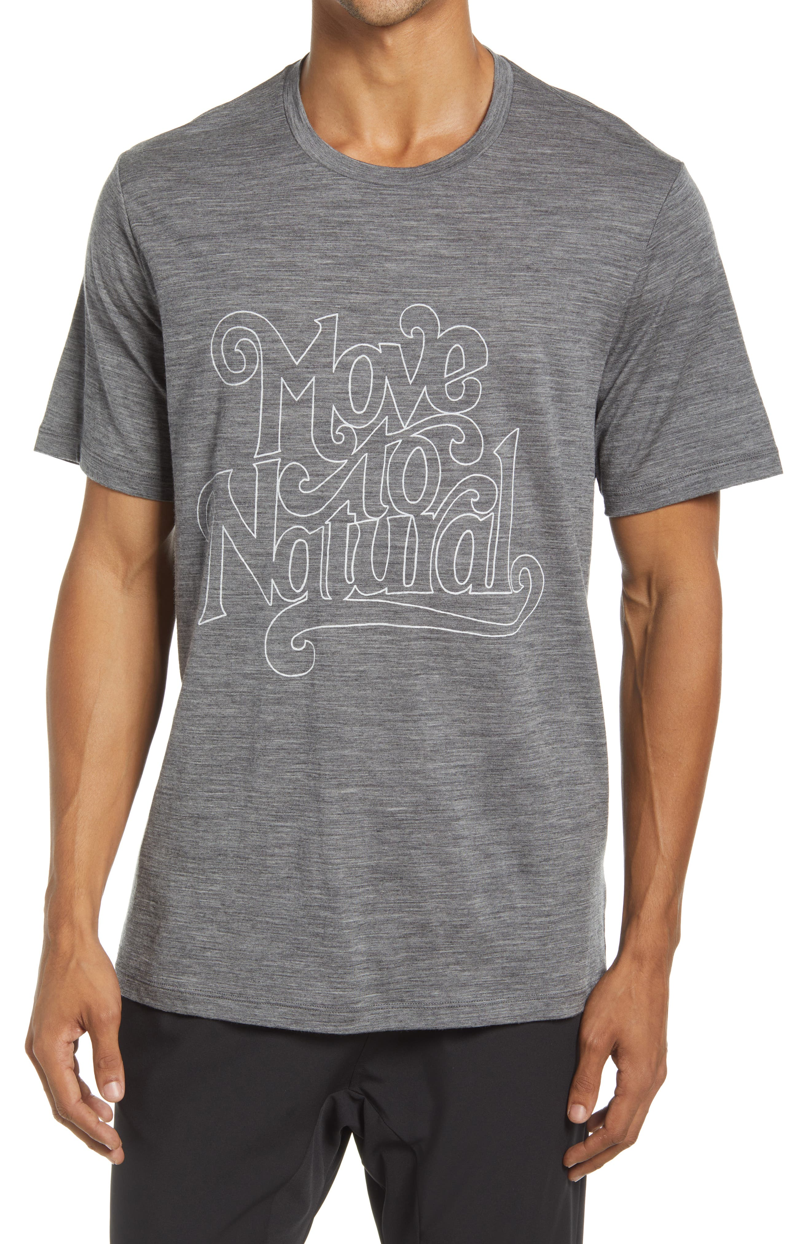 Tech Lite Ii Move To Natural Graphic Tee