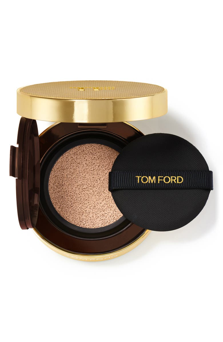 TOM FORD Shade and Illuminate Soft Radiance Foundation Cushion Compact SPF 45, Main, color, 0.4 ROSE