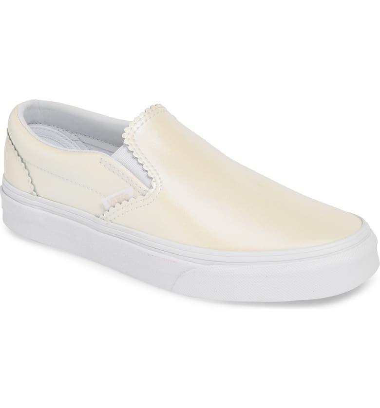 VANS Classic Pearl Slip-On Sneaker, Main, color, 100