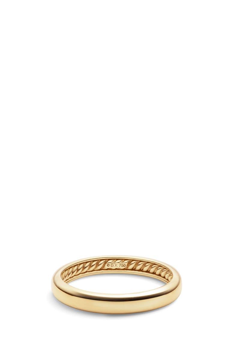 DAVID YURMAN DY 18K Gold Classic Band Ring, Main, color, GOLD
