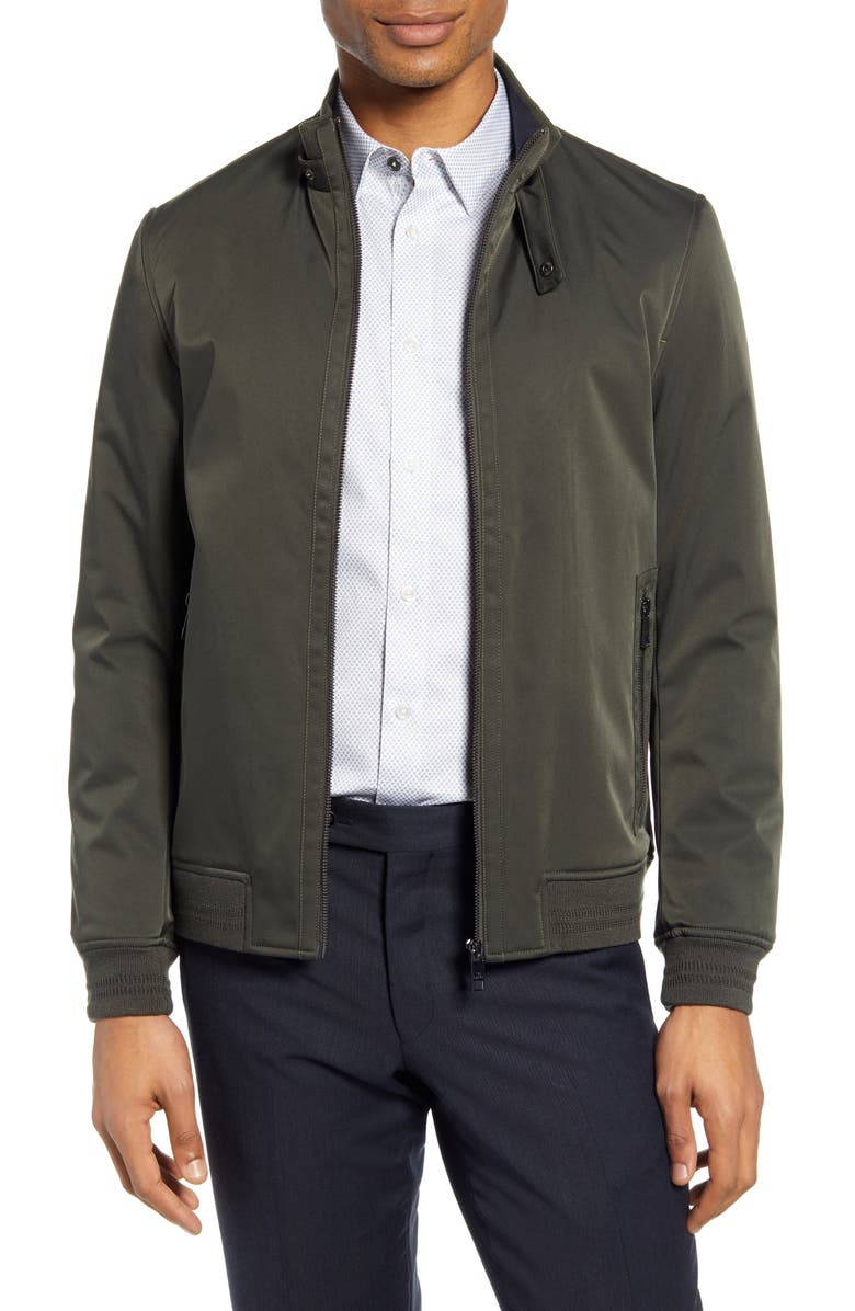 TED BAKER LONDON Yeppers Slim Fit Bomber Jacket, Main, color, 250
