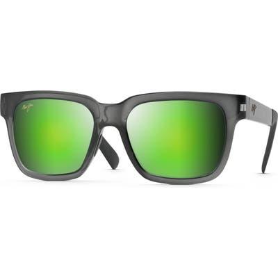 Maui Jim Mongoose 5m Polarized Sunglasses - Translucent Grey