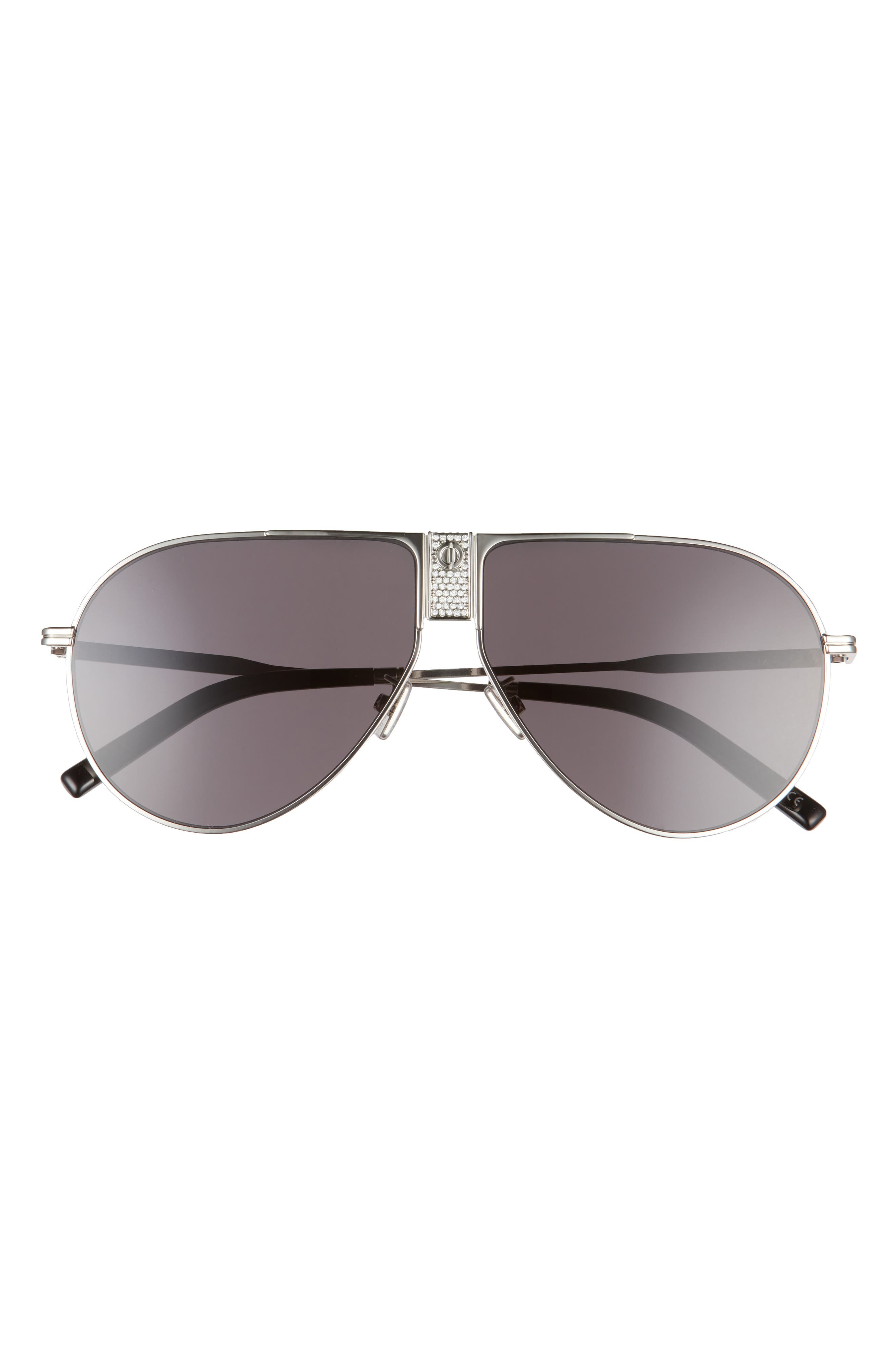 Men's 63mm Aviator Sunglasses