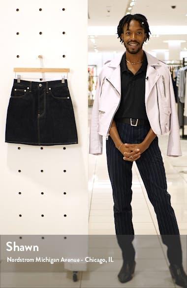 Femme Hi Denim Miniskirt, sales video thumbnail