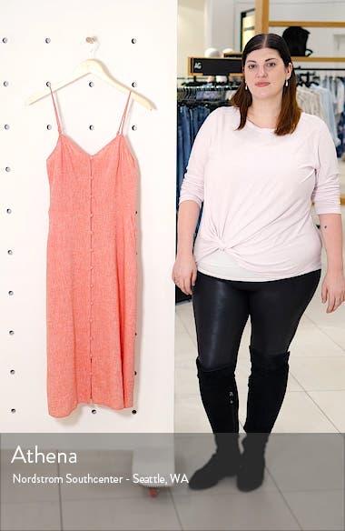 Button Front Midi Dress, sales video thumbnail