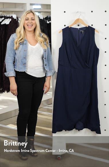 Rochelle Linen Blend Midi Dress, sales video thumbnail