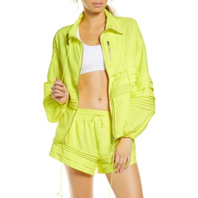 Free People Fp Movement Check It Out Jacket, Yellow