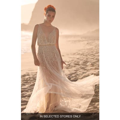 Willowby Celestial Embellished Wedding Dress