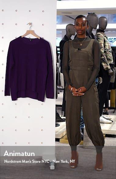 Merino Wool High/Low Top, sales video thumbnail