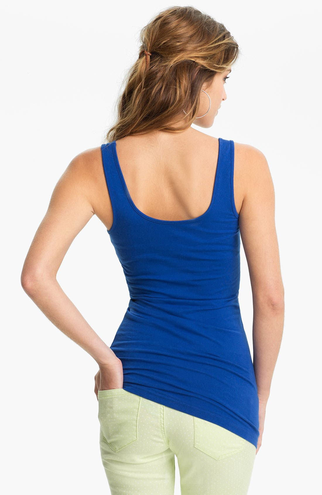 ,                             Double Scoop Neck Tank,                             Alternate thumbnail 170, color,                             422