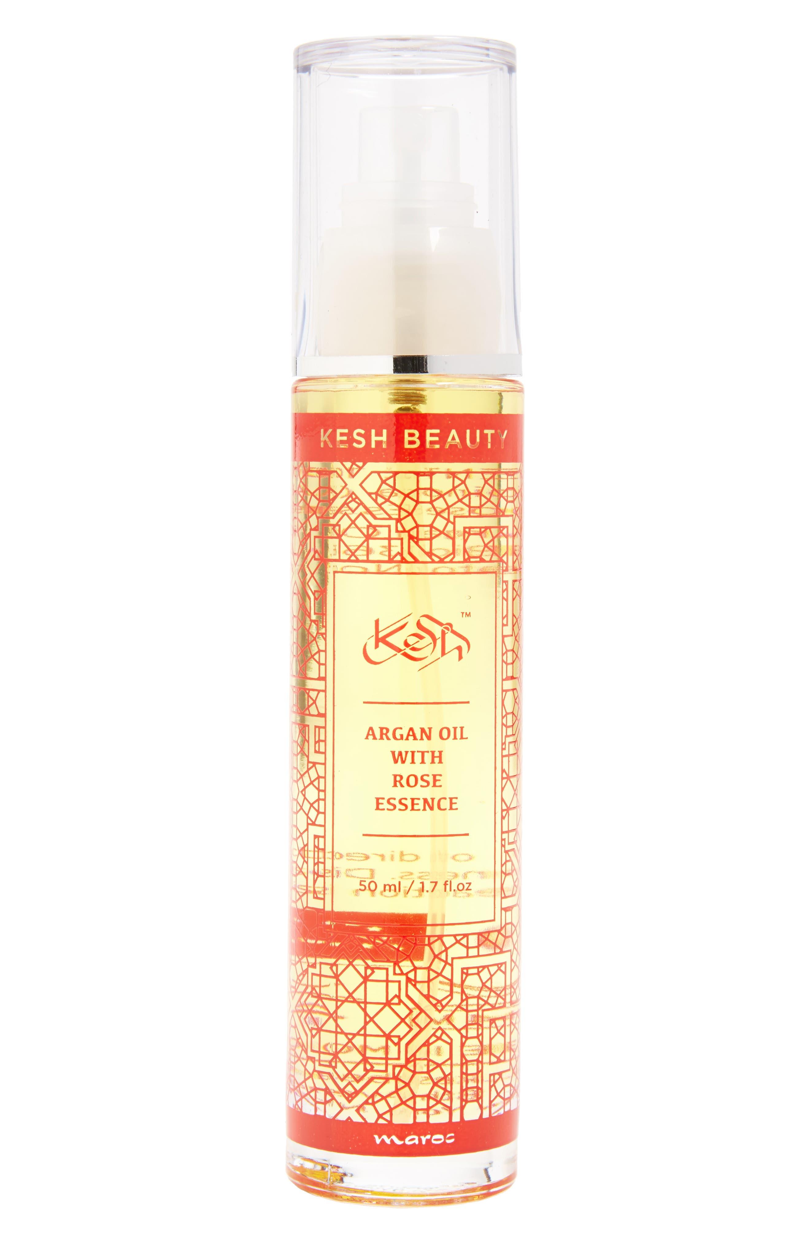 Argan Oil with Rose Essence, Main, color, 650