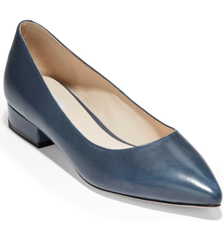 COLE HAAN Vesta Skimmer, Main, color, OMBRE BLUE LEATHER