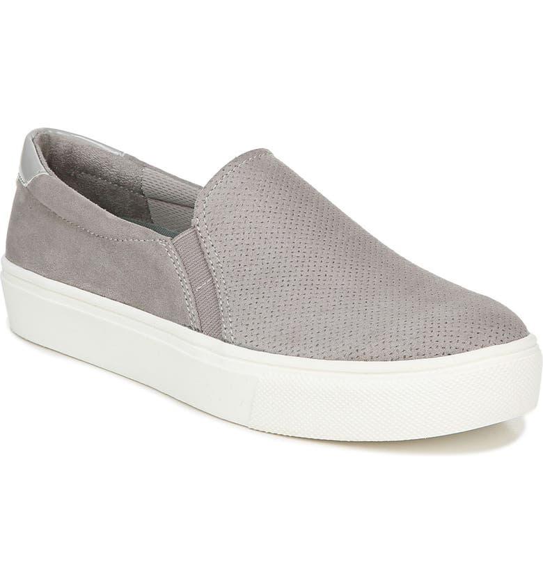 DR. SCHOLL'S Nova Slip-On Sneaker, Main, color, GREY FABRIC