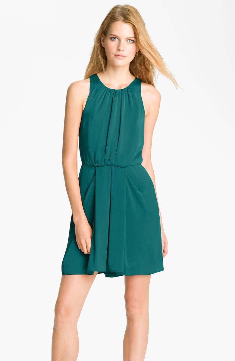 REBECCA TAYLOR 'Set In' Chiffon Shift Dress, Main, color, 440